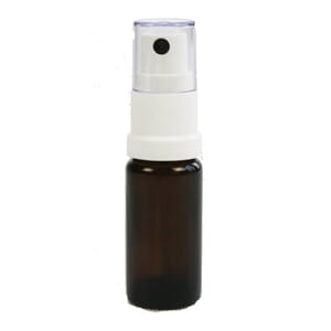 Glassflaske m/Spray (10ml) - 5stk